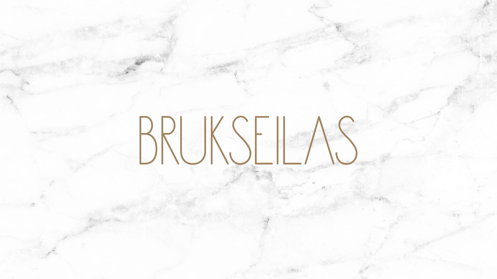Logo of Brukseilas on Marble