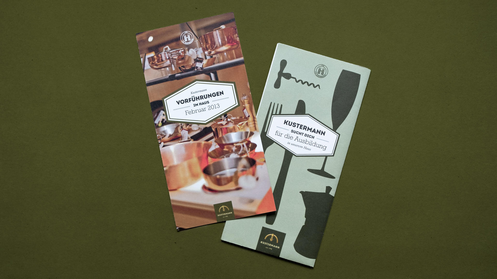 Photo of a Cooking Class Flyer for Kustermann